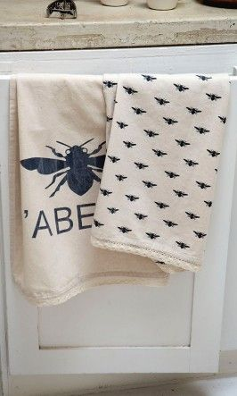The Bees Reverie Bee Teatowels