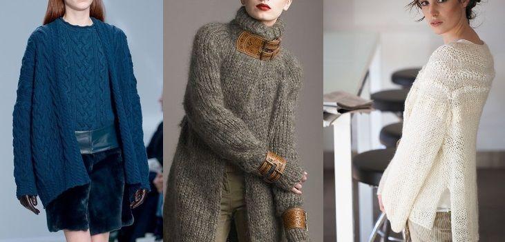 Unikać: bezwymiarowe swetry, ciężkie tekstury, puszyste swetry.