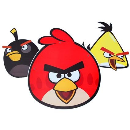 #adornomovl #fiestaAngryBirds #kitfiesta   http://www.kitfiesta.com/fiestas-ninos/angry-birds/angry-birds-adorno-movil