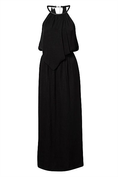 Perfect for casual chic that will protect my legs from the mossies at night! Hardware Overlay Maxi - #witcherywishlist