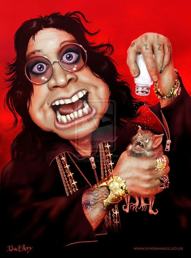Ozzy Osbourne   Ozzy Osbourne 1 by ~Ian-Ellery on deviantART