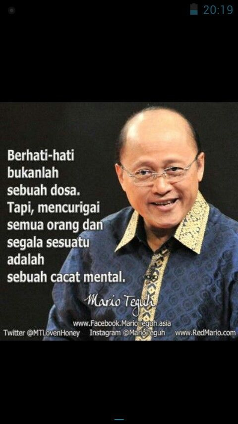 Quotes Mario Teguh