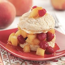 Summer Shortcake Biscuits - Just add sliced fruit and whipped cream for a delicious taste-of-summer dessert.