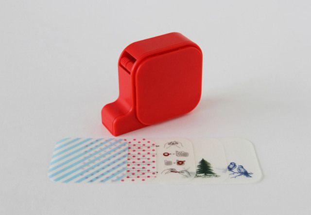 MT Tape Cutter Decor Red