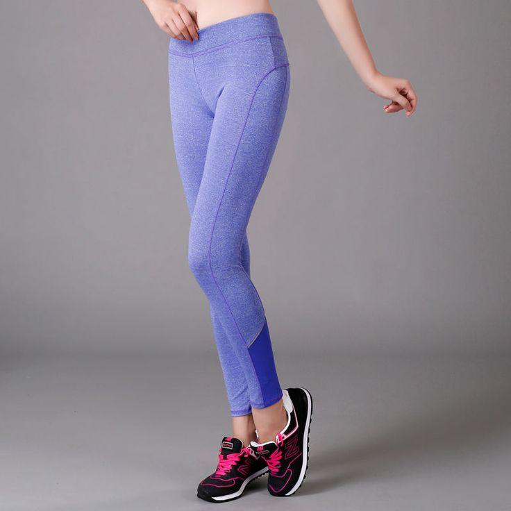 Women's Sports Gym Yoga Fitness Leotards Ladies Athletic Pants Workout Leggings