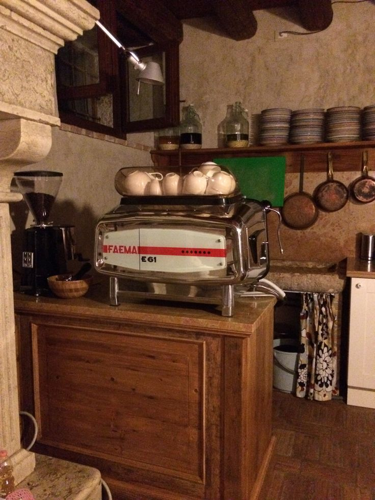 Faema coffee machine 1965