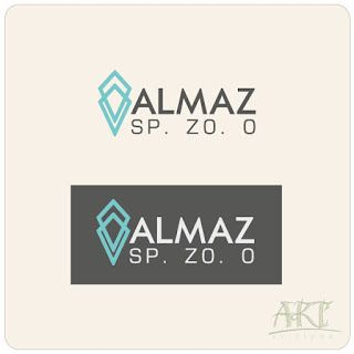 "Logo for the Polish company ""Almaz"" Ltd, which is engaged in mineral fertilizers wholesale. ""Almaz"" means ""diamond""."