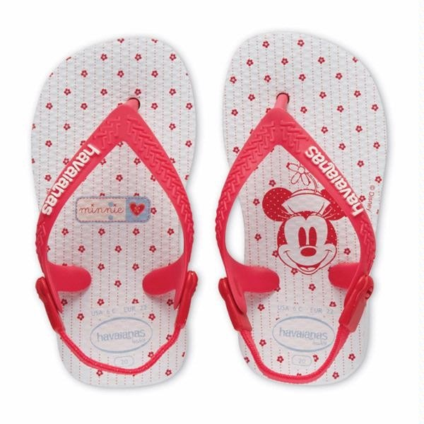 Baby Mickey/Minnie Mouse Havaianas Rose at Flopstore Europe, http://www.flopstore.eu/gb/