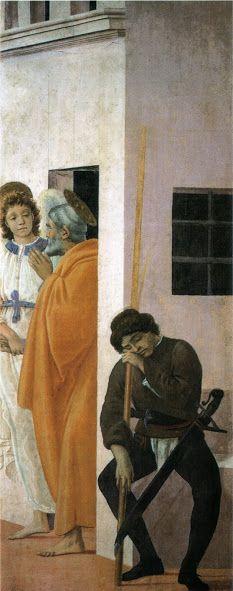 Liberazione di san Pietro dal carcere (1482-87 circa; Firenze, Chiesa di Santa Maria del Carmine, Cappella Brancacci)