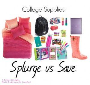 Splurge vs Save: Dorm Bedding