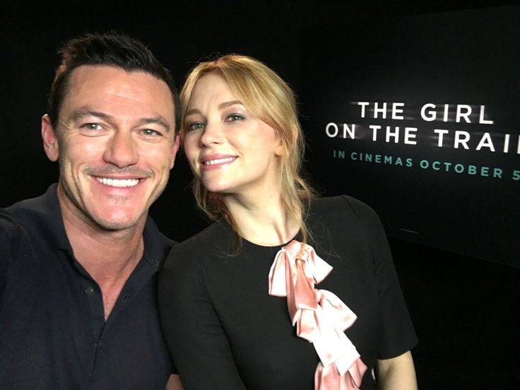 @TheRealLukevans First day of press for @girlontrainfilm with Haley Bennett! World Premiere this evening! #TheGirlOnTheTrain