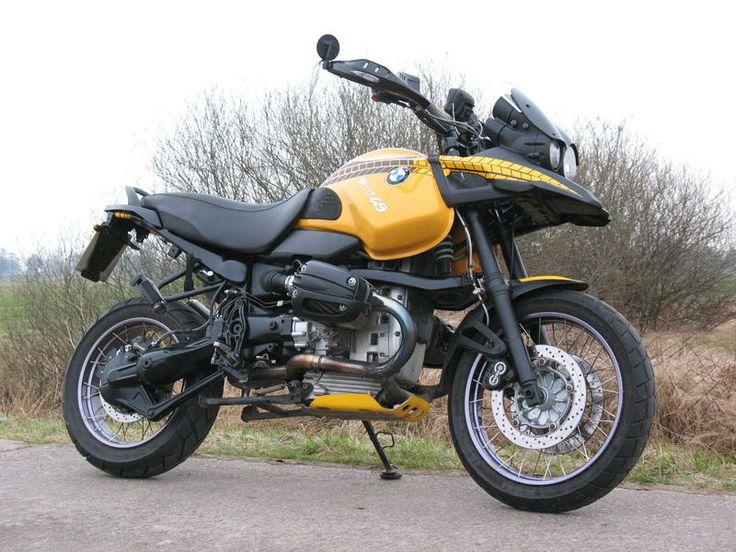 R1150 GS in gelb