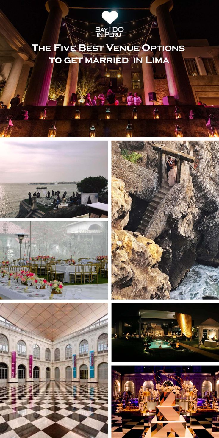 Did You Decide To Get Married In Lima Do Know Exactly What Want Wedding Ceremony And Receptionswedding