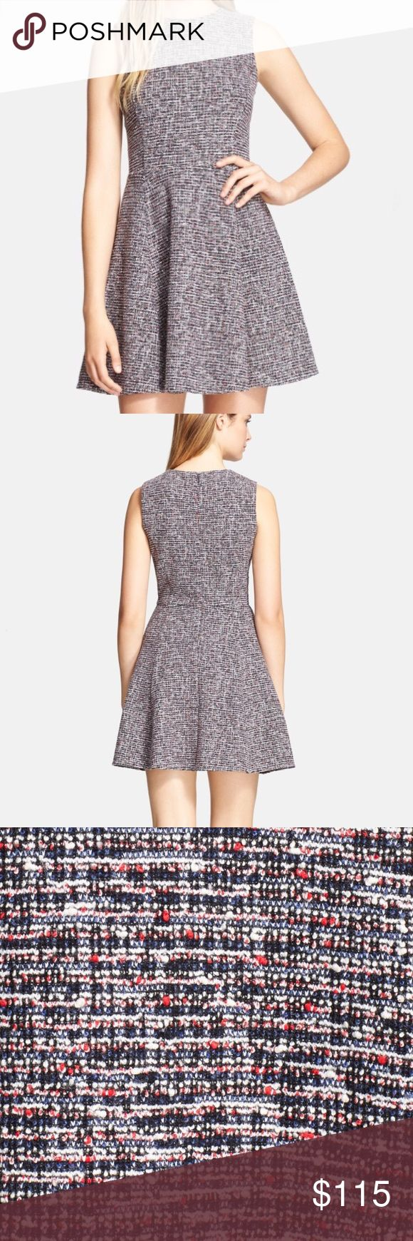 Theory Tweed Dress Beautiful Prospect K Tillora Tweed Dress by Theory in size 6. Originally $325 before tax (see photo). Professional with a blazer yet easy to dress down A-line swing dress! Soft, not stiff. Smoke and pet free home. Hope you enjoy! 😍 Keywords: Anthropologie, Free People Theory Dresses