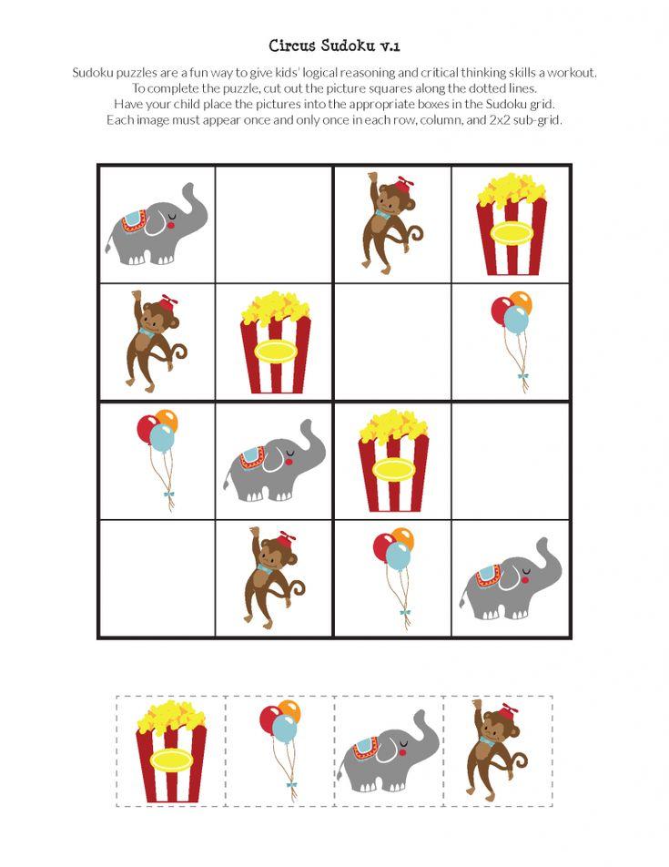 Circus sudoku puzzles in 2020 sudoku puzzles sudoku