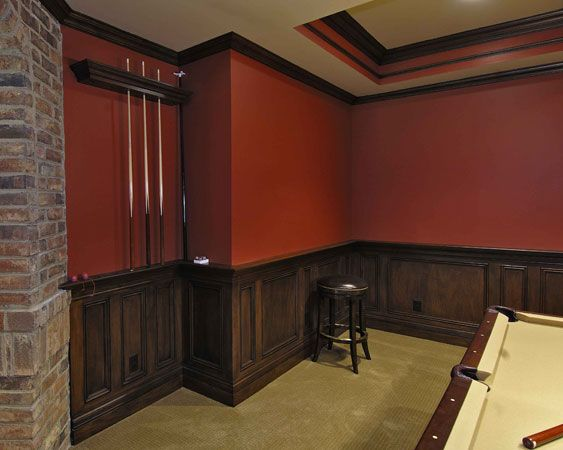 wainscoting pictures | back next | Gameroom ideas ...