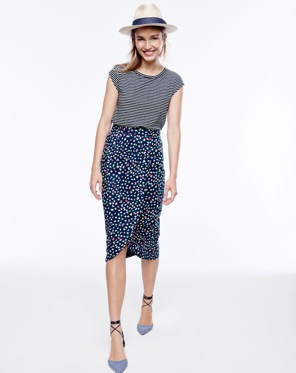 The J.Crew women's ballet T-shirt. Inspired by the cap sleeves on classic dance leotards, with a long, lean fit.