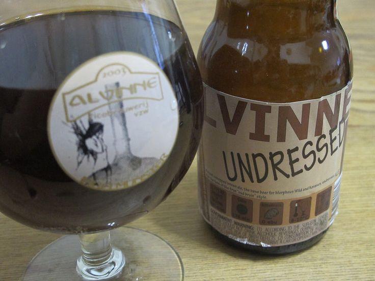 Alvinne Undressed e33cl Alc.6,9%Vol.  Picobrouwerij Alvinne Vaartstraat 4, B-8552 Moen(Zwevegem) http://www.alvinne.be/