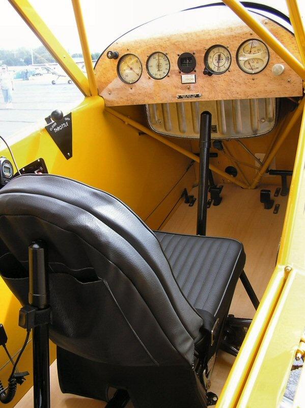 J-3 Cub Cockpit