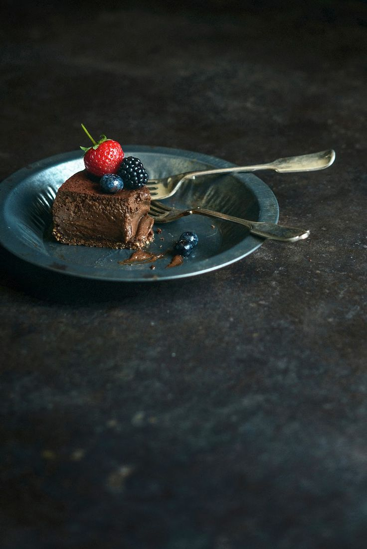 Light and Luscious Chocolate Espresso Cheesecake