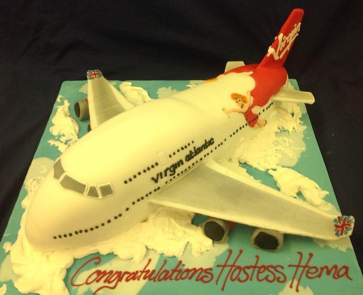 Virgin Atlantic Birthday Cake
