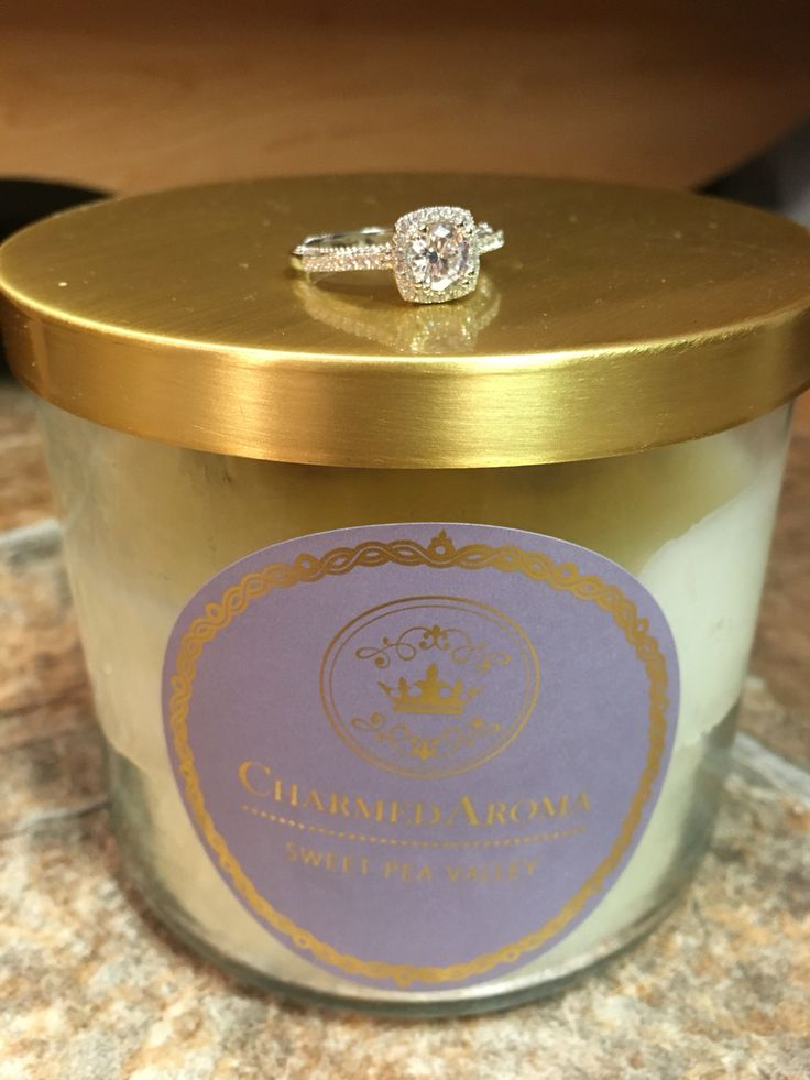 Charmed aroma ring. I just got one of these candles. I hope my ring is as beautiful as this one!!!