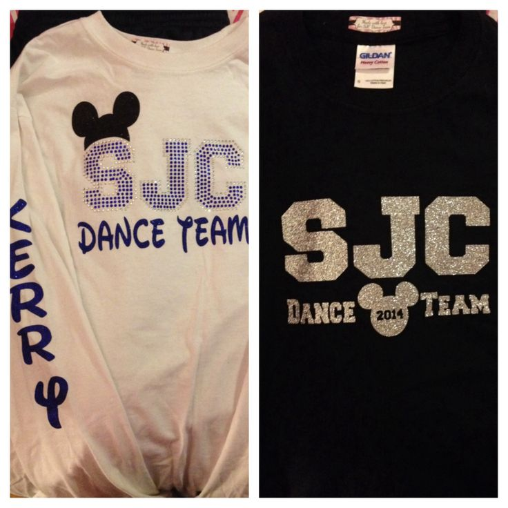 obsessed with these nationals disney dance team shirts!!