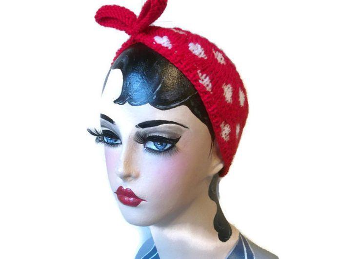 +Rockabilly+Hairband+in+Red+or+Black+Polka, £11.99