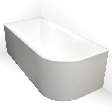 Aqua Freestanding Corner Bath RHS 1700mm