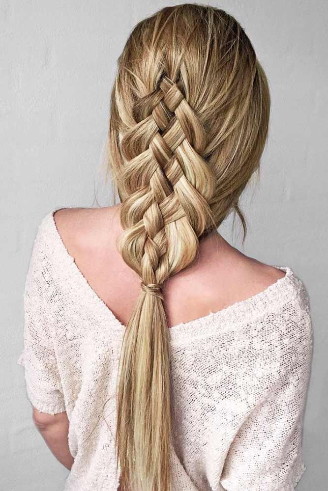 Popular Types Of Braids And Inspiring Ideas Of How To Wear Them Hair Styles Unique Braided Hairstyles Braided Hairstyles