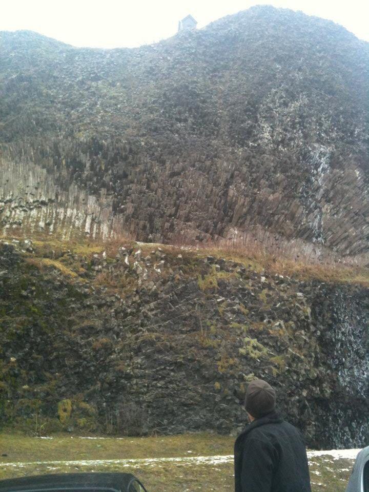 Basalt in Parkstein Germany