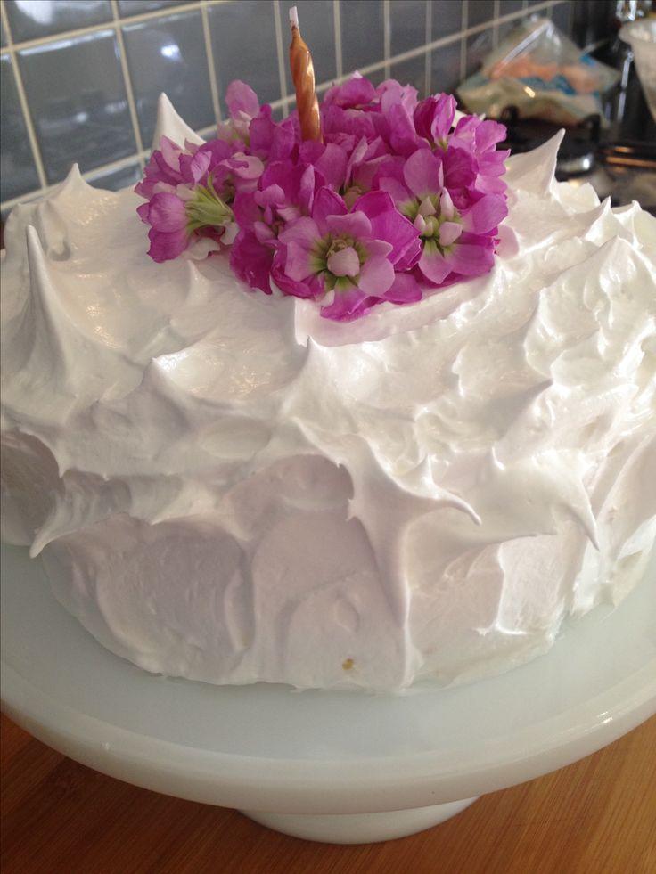Meringhe cake