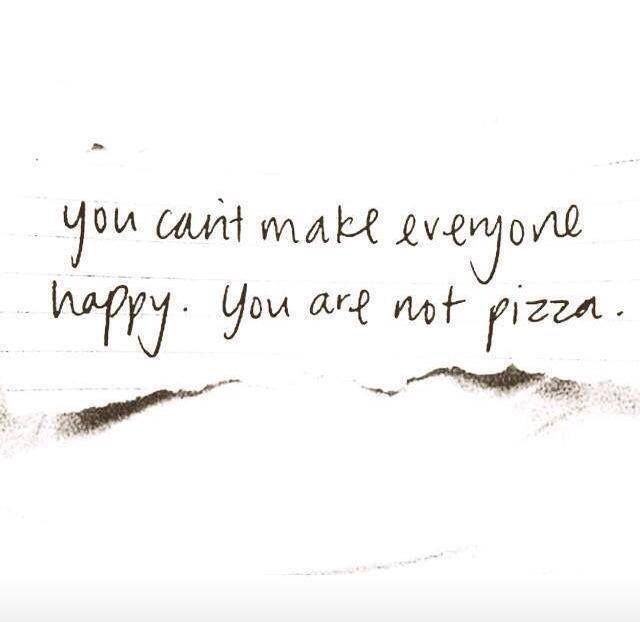 Not everyone likes pizza tho...but those few are a rare creature that is hardly found