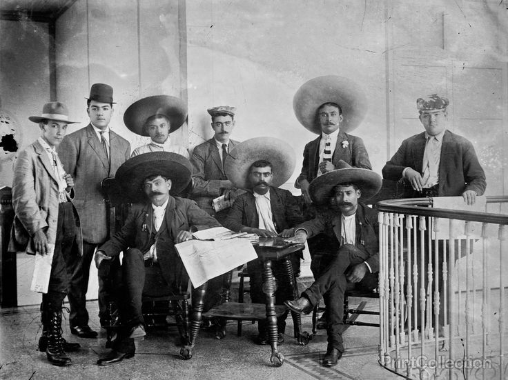 General Zapata & Staff in Mexico