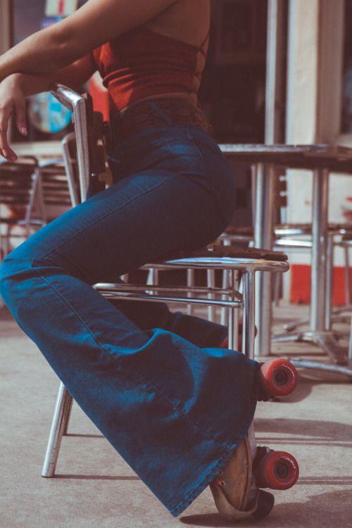 bell bottoms + roller skates + halter tops + diners. life goals.