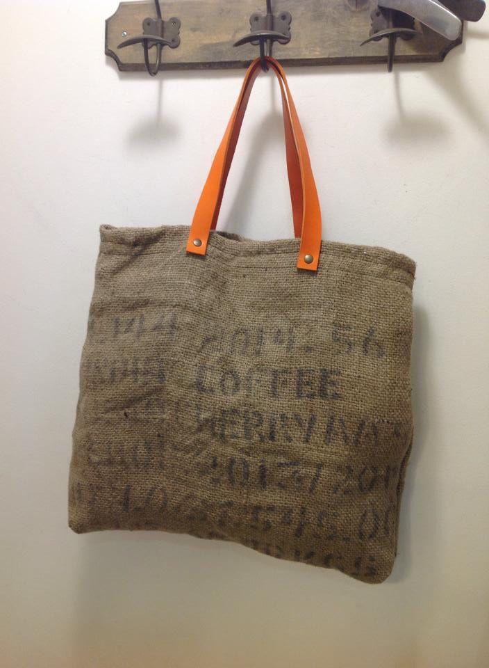 Bolso tela de saco con personalidad en nuez bag bolso - Tela de saco ...
