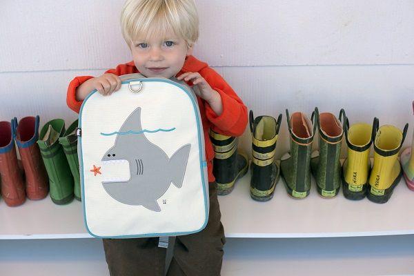 Beatrix NY~Little Kid Backpack ~Nigel Shark