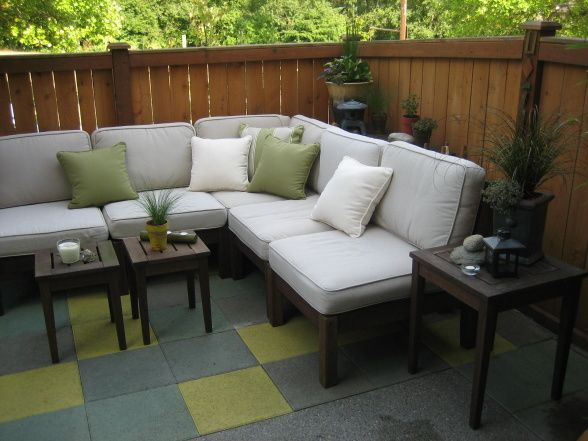 Decorating Small Townhouse Patio Ideas