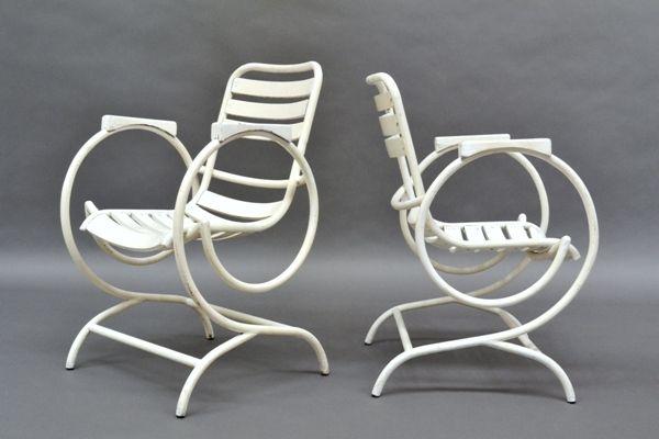 [Coppia di sedie Francesi] - Spazio900 Modernariato