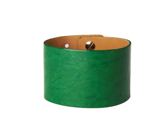 Large Patent Cuff by Streets Ahead