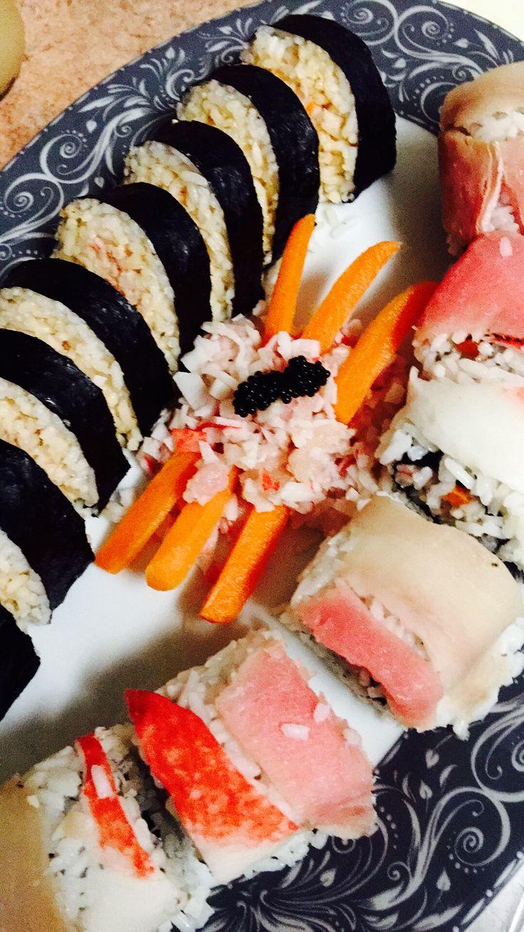 Sushi hecho en casa