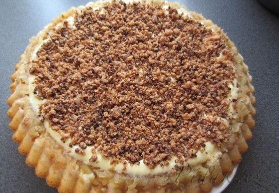 Sypaný skořicový koláč za hubičku