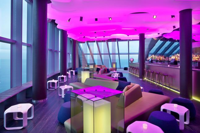 Eclipse Bar W Hotel , Barcelona