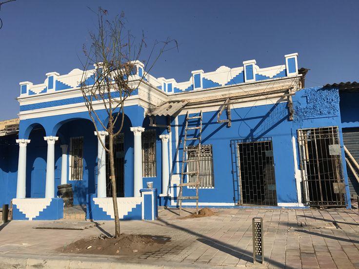 Barrio San Roque sector fundacional de Barranquilla Colombia