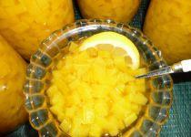 Dýně - kompot s ananasovým sirupem proJanu  Remkovou