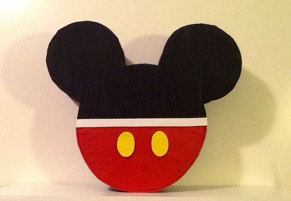 Piñata mickey mouse orejas de mickey mouse piñata por aldimyshop, $18.00