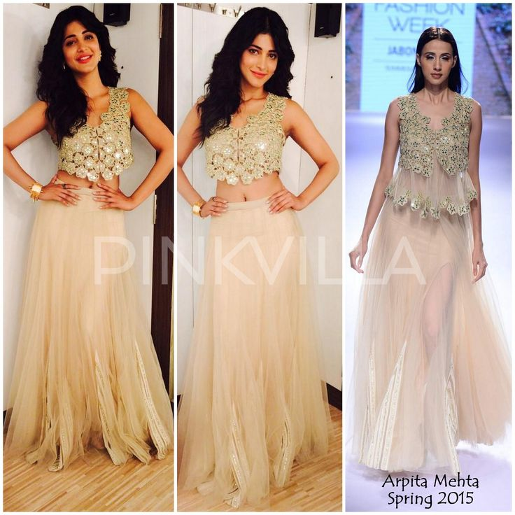 Yay or Nay : Shruti Haasan in Arpita Mehta
