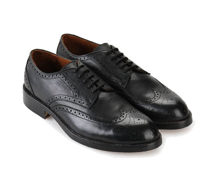Moonwalker Derby Shoes by Ftale Footwear. Black shoes that made from leather, round toe, lace up, rubber sole, perfect shoes for formal or semi formal occasion, par this with work pants for a formal look and chino for a semi formal look. http://www.zocko.com/z/JGr8b