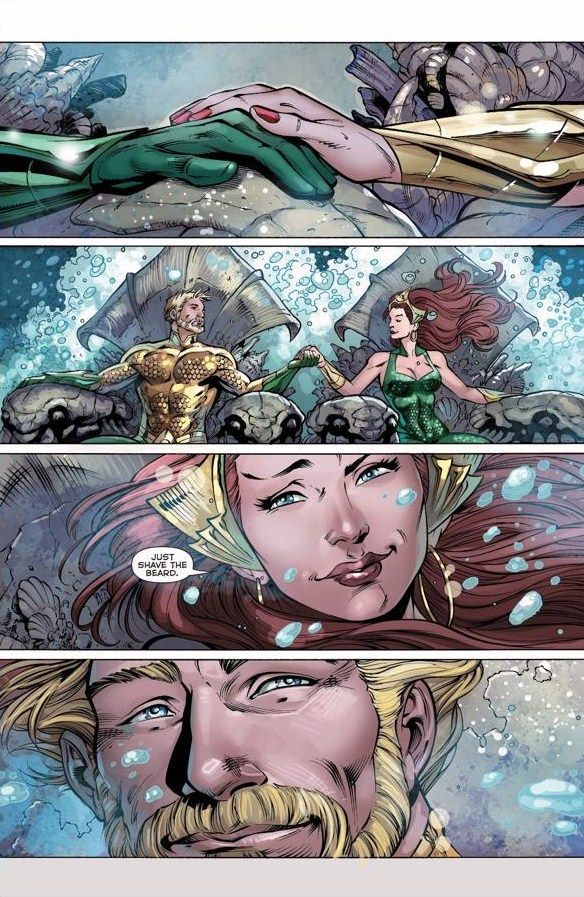 mera new 52 shave the beard - Google Search
