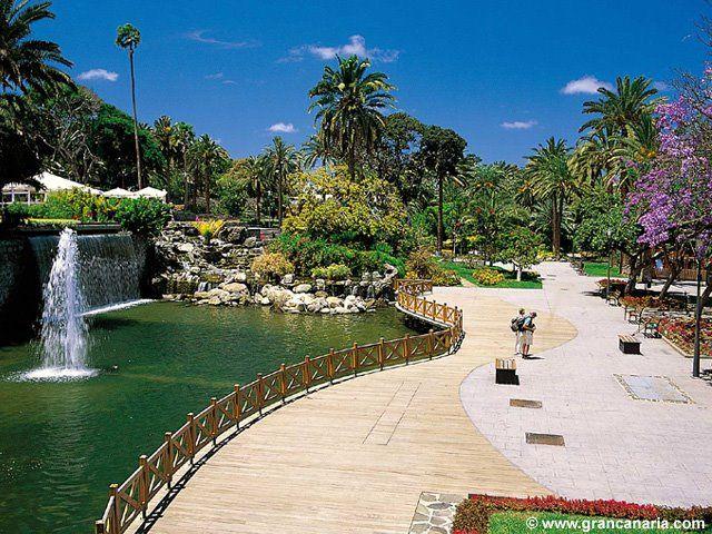 Venture around Park Doramas, in Las Palmas de Gran Canaria, Spain #travel #holidays